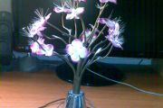 LED Fiber Optic Bouquet Modification